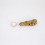 Rachael Osborne, Small Round Bowl Driftwood Spoon
