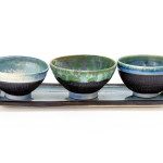 Hugh West Ceramics, Three Bowl Set