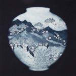 Sally Spens, The Flowers Follow Snow on the Silk Road