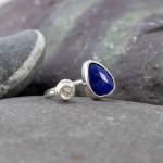 Marsha Drew, Pebble Ring with Lapis Lazuli