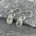 Marsha drew, Morwen Drop Earrings Prehnite