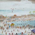 Simeon Stafford, Beach Umbrellas