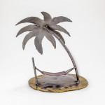 Kerry Whittle, Island with Hammock and Palm Tree