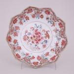 A CHINESE FAMILLE ROSE LOTUS DISH, Qianlong (1736-1795)