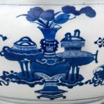 A CHINESE BLUE AND WHITE KANGXI JAR, Kangxi (1662-1722)