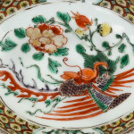 A CHINESE FAMILLE VERTE SAUCE BOAT, Kangxi (1662-1722)
