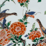 A LARGE FAMILLE VERTE PIECRUST DISH, Kangxi (1662 1722)