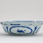 A CHINESE BLUE AND WHITE KRAAK KLAPMUTSEN, 1st Half of 17th century