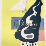 Georges Braque, Poster for Braque Graveur, Berggruen & Co. Gallery, Paris, 1963