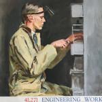 Duncan Grant, Engineering Workmen; Poster II (Set of Four), 1939