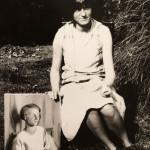 Dorothy Hepworth, Girl in Blue, Cookham, 1927