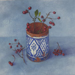 Kim Dewsbury, Haws in a Moroccan Pot