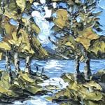 Martin Llewellyn, Light through the Trees