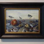 Kim Dewsbury, Norfolk Pebbles with Ringed Plover