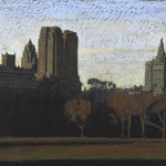 Jean-Baptiste Sécheret, série 'Central Park, soir' #6, 2008-2020