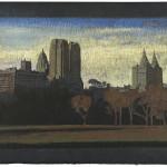 Jean-Baptiste Sécheret, série 'Central Park, soir' #3, 2008-2020