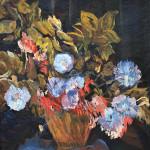 David Bomberg, Still Life With Flowers, 1943