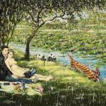 Fang Shao Hua, A Panorama of 'The Picnic', 2009