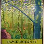 Hand Signed David Hockney Original Poster 'Nur Natur'