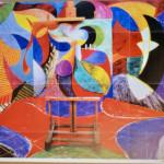 David Hockney, Hand Signed 'Painted Environment 1', 1993