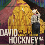 David Hockney Hand Signed Original Poster, A Bigger Picture
