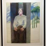 David Hockney, Prisoner for Amnesty International , 1977