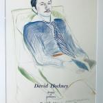 David Hockney Original Poster Hand Signed and Numbered 'Dessins et Gravures'