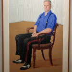 David Hockney, A Bigger John Fitz-Herbert Monday 24th November 2008, 2008