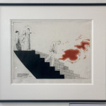 David Hockney Etching & Aquatint 'The Wallet Begins to Empty' for Sale