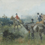 Gilbert Joseph Holiday, A pair of hunting scenes