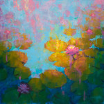 Jamel Akib, Waterlilies V, 2019