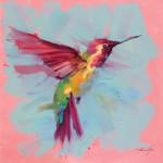 Jamel Akib, Hummingbird - Pink No.3, 2020