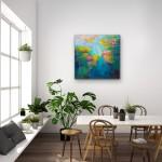 Jamel Akib, Waterlilies III, 2019
