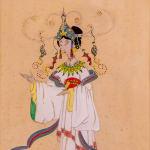 George Barbier, Oriental Costumes, Folies Bergère (pair), c. 1925