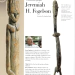 Image of Lobi figure as published in Tribal Art Magazine Fall 2010