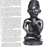 Seated Bakongo Fetish as published in volume one of Art Bakongo