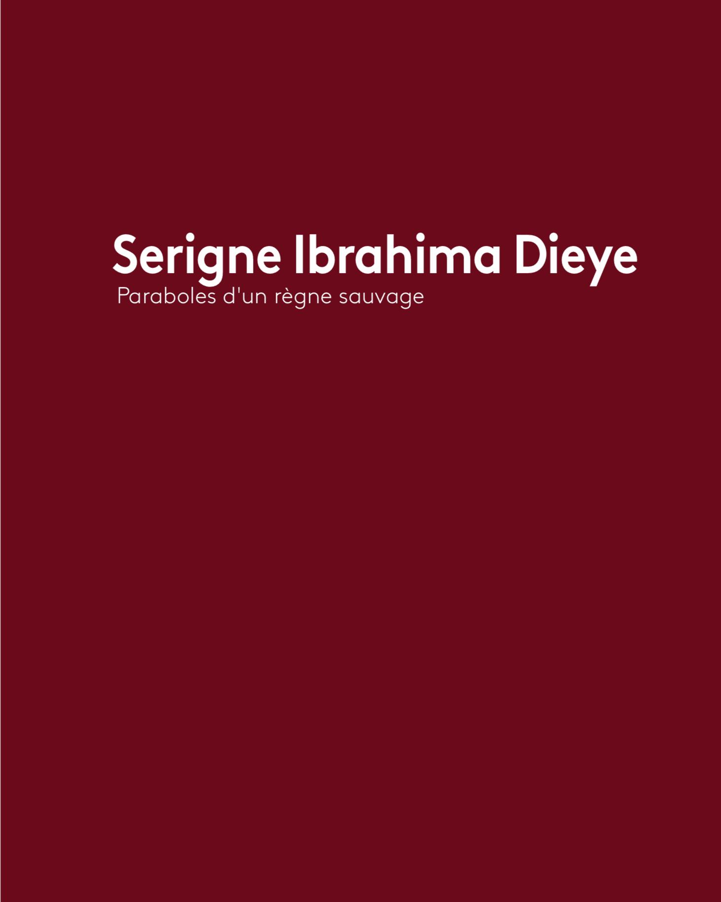 Serigne Ibrahima Dieye - Paraboles d'un règne sauvage
