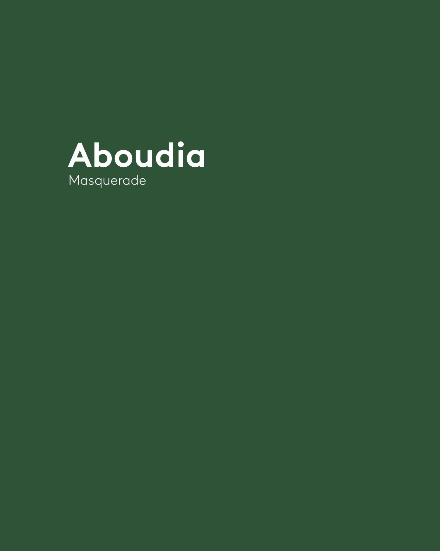 Aboudia - Masquerade