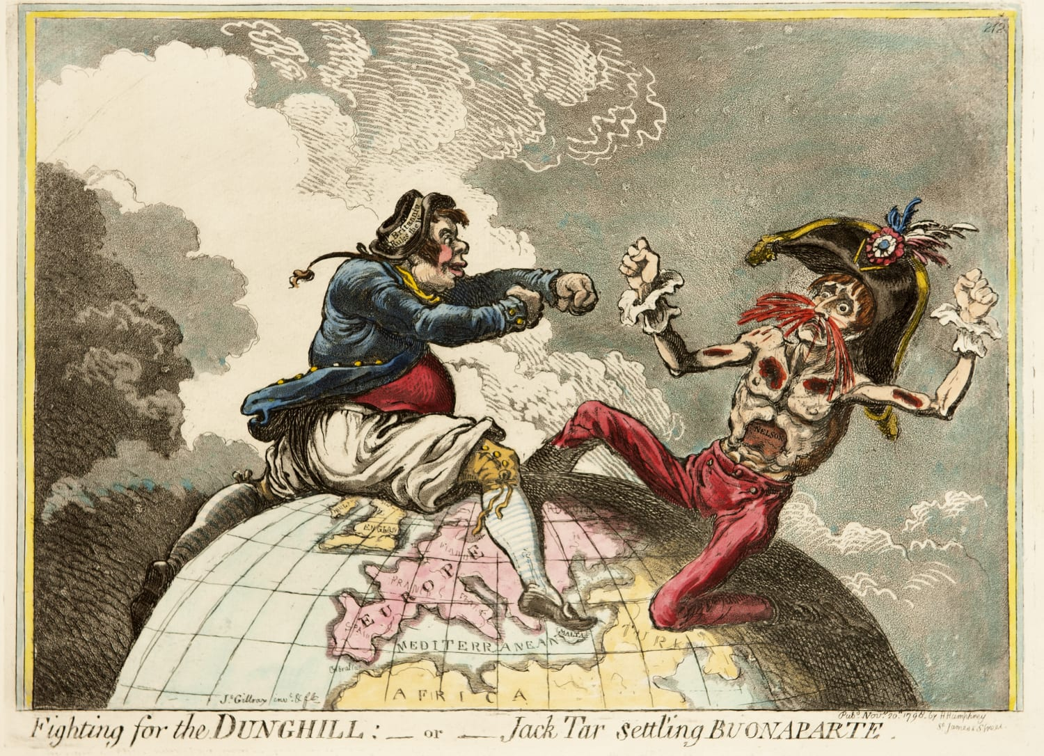 JAMES GILLRAY | Political Ravishment