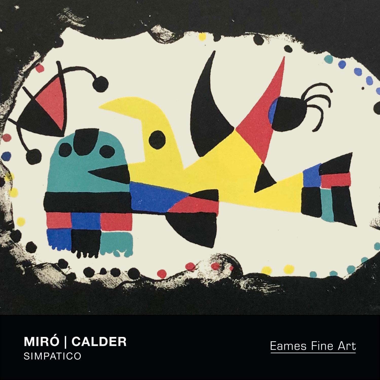 Miró and Calder | Simpatico
