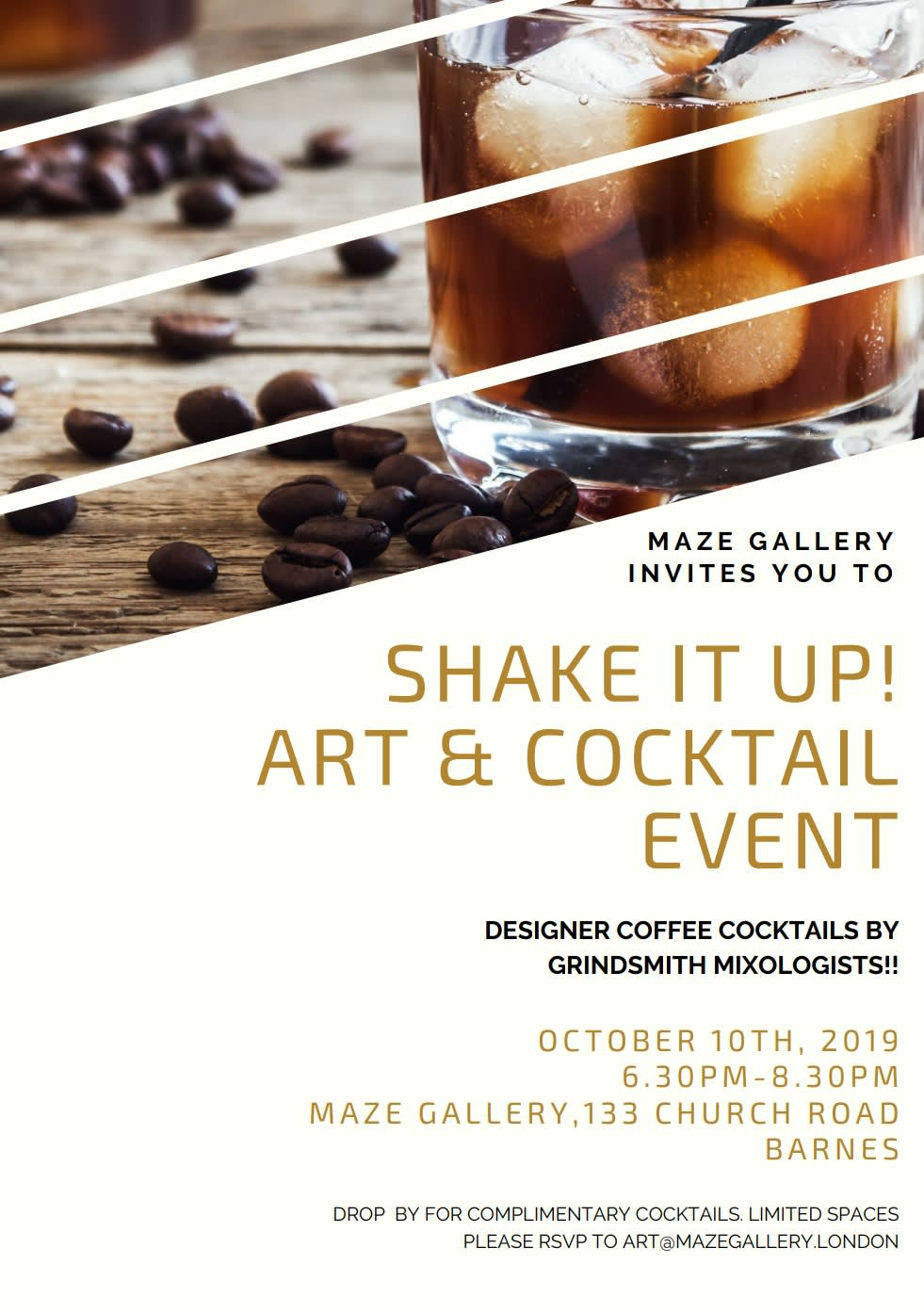 Shake It Up! Art & Cocktail Event