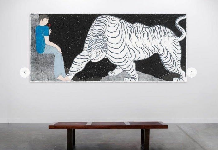 Liu Qi — Ferocious Tiger in Heart, Ora-Ora at Art Basel Hong Kong 2020 Online Viewing Rooms