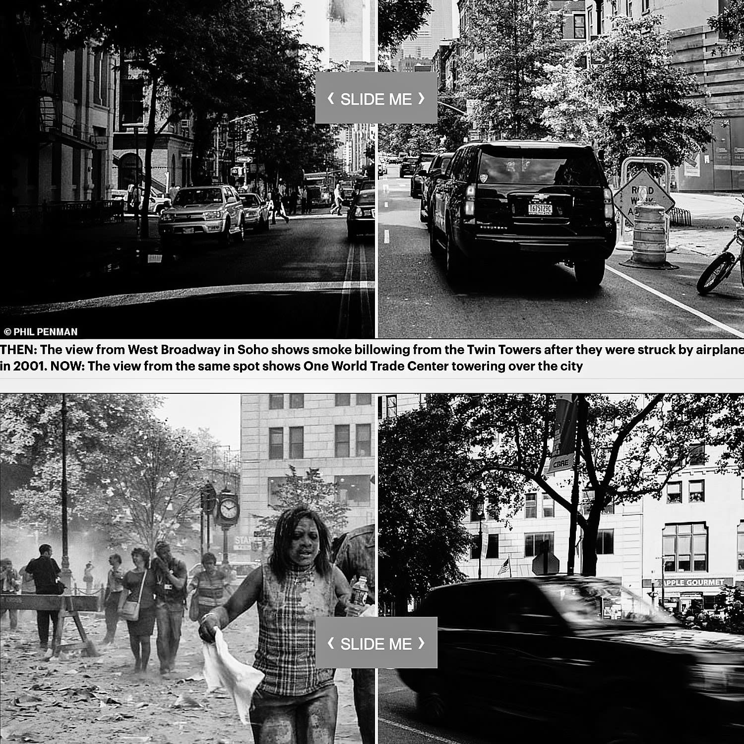 DAILY MAIL : Photographer who captured devastating images of 9/11 calls on Americans to 'bring back togetherness' like t