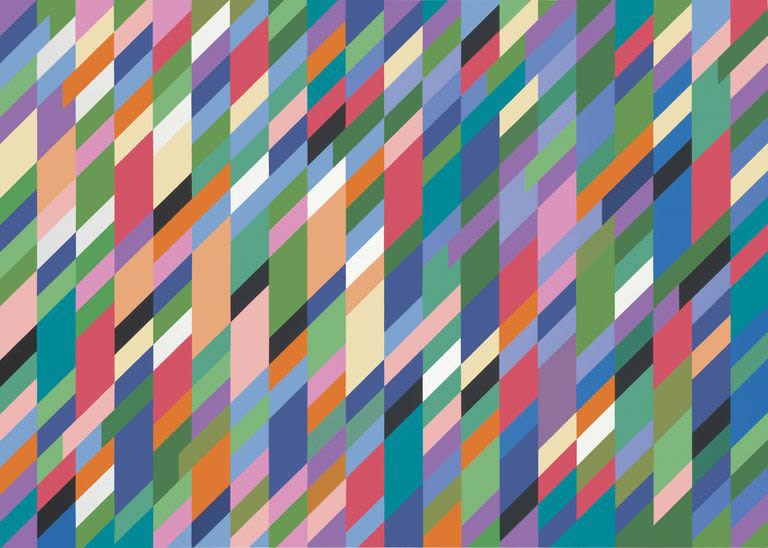 Bridget Riley at Hayward Gallery