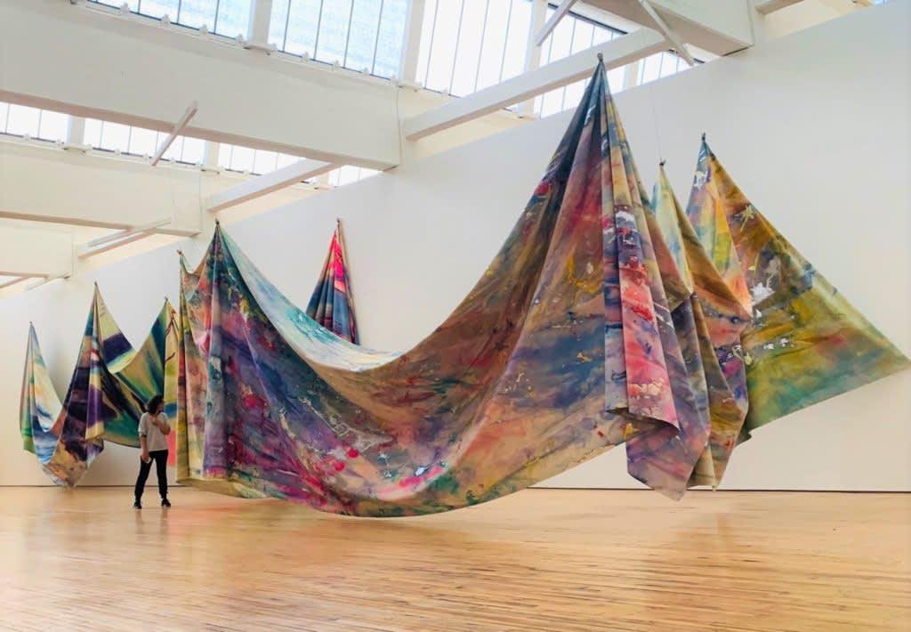 Sam Gilliam at Dia Art Foundation