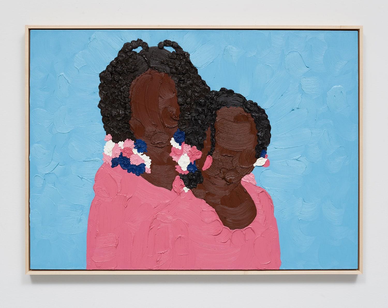 Shaina McCoy Girls, 2019 Oil on canvas 81.3 x 111.8 cms 32 x 44 inches
