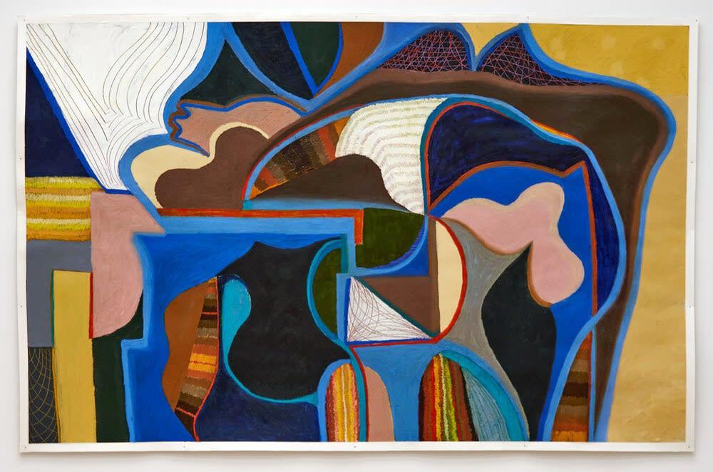 Maria Korol Atlanta artist Argentinian artist oil painting works on paper