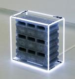 Nathaniel Rackowe, Block 1,2004.  Image courtesy the artist and Bangkok University Gallery.