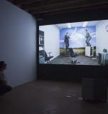Adel Abidin and Nadia Kaabi-Linke at Etopia Center for Art and Technology, Zaragoza, Spain