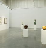 Mona Saudi. Poetry in Stone. Installation view